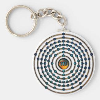 Ununpentiumの分子Keychain キーホルダー