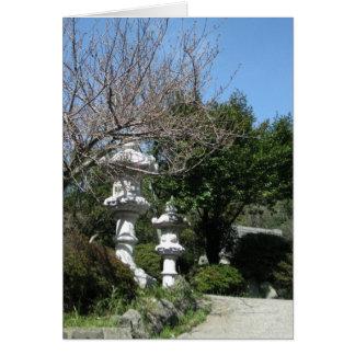 Unzen神社NY JP ノートカード