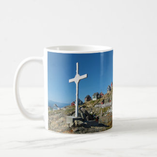 Upernavikの墓地の北西グリーンランドのパノラマ コーヒーマグカップ