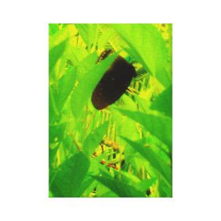 Upsidedownの蝶 キャンバスプリント