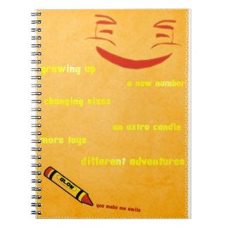 Upsidyのスマイリー ノートブック