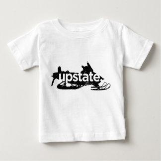 upstateベビーのそりのワイシャツ ベビーTシャツ