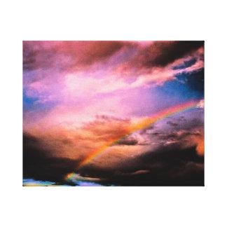 Upstate虹ニューヨーク キャンバスプリント