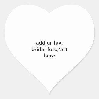 urのfavを加えて下さい。 ブライダルシャワーのfotoかここの芸術のステッカー ハートシール