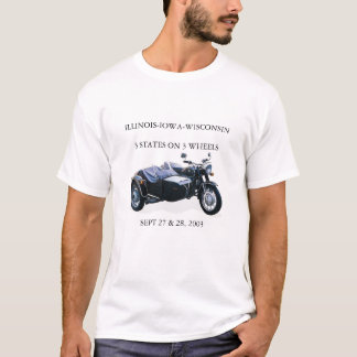 Ural IIWの乗車 Tシャツ