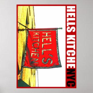 Urban59アートワークのスタジオの地獄の台所NYCポスター ポスター