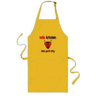 Urban59地獄の台所悪魔のエプロン ロングエプロン