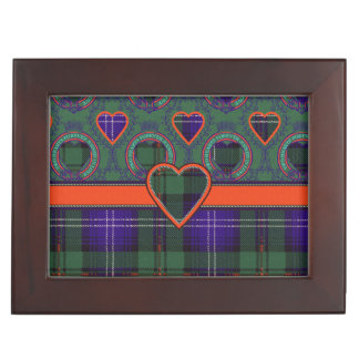 Urquartの一族の格子縞のスコットランド人のタータンチェック アクセサリーケース