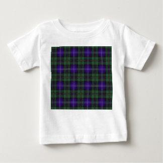 Urquartの一族の格子縞のスコットランド人のタータンチェック ベビーTシャツ