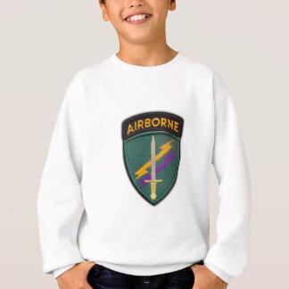 usacapocの特別なopsの退役軍人の獣医パッチのワイシャツ スウェットシャツ