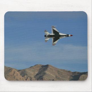 USAFの雷鳥の単独の最低の半径の回転パッド マウスパッド