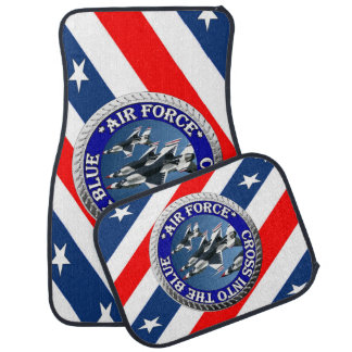 USAIRFORCEFANMERCHの空軍デザイン カーマット