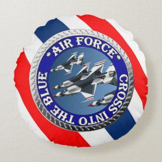 USAIRFORCEFANMERCHの空軍デザイン ラウンドクッション
