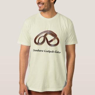 Usambaraのムカデ食べる人のオーガニックなTシャツ Tシャツ