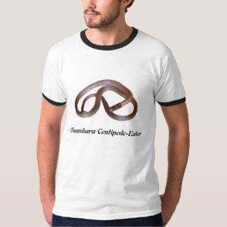 Usambaraのムカデ食べる人の信号器のTシャツ Tシャツ