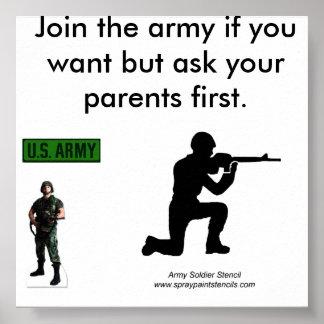USArmyStarLogoPatchの388~Army兵士ポスター、… ポスター