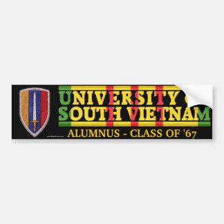 USARV -南ベトナムの卒業生のステッカーのU バンパーステッカー