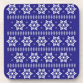 USBの雪片パターン コースター