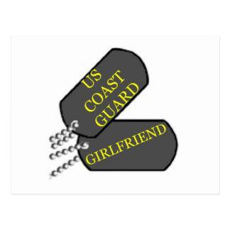 USCGのガールフレンド ポストカード