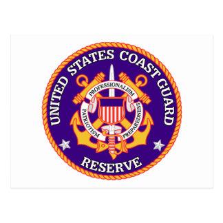 USCGの予備のシール ポストカード