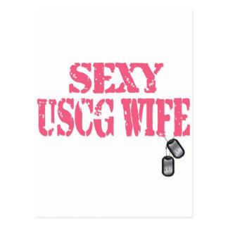 USCGの女の子 ポストカード