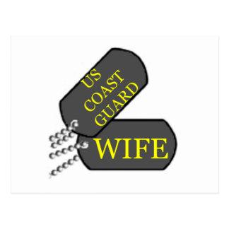 USCGの妻 ポストカード