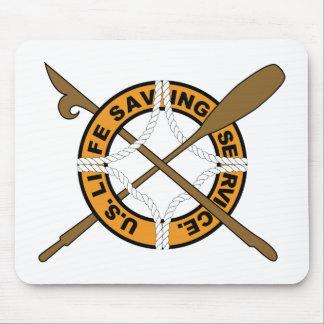 USCGの救命サービス マウスパッド