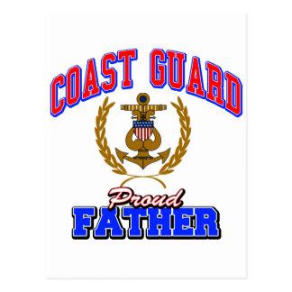 USCGの誇り高い父 ポストカード