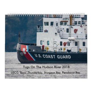 """USCGは""""ハドソン川2018年でほえます"""" カレンダー"""