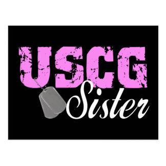 uscg99sister2blk ポストカード