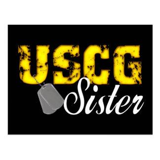 uscg99sisterblk ポストカード