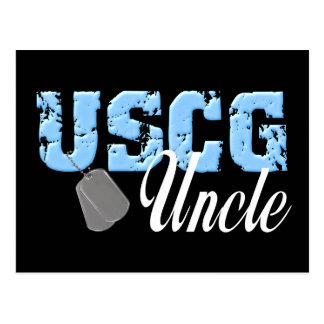 uscg99uncle2blk ポストカード