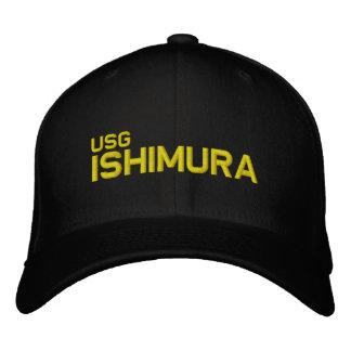 USG ISHIMURAの野球帽 刺繍入りキャップ