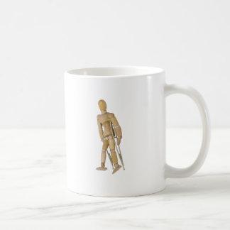 UsingCrutches013110 コーヒーマグカップ