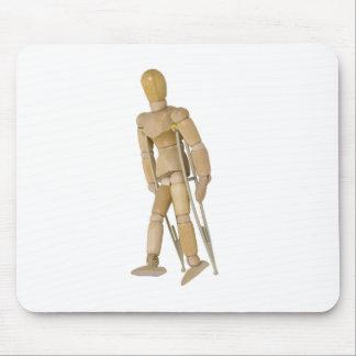 UsingCrutches013110 マウスパッド