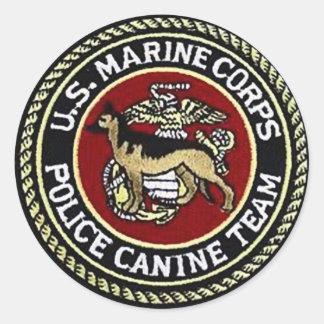 USMCのイヌ科動物の単位 ラウンドシール