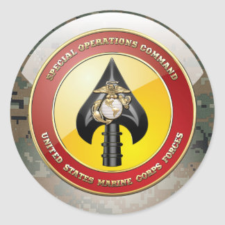 USMCの特殊作戦部隊(MARSOC) [3D] ラウンドシール