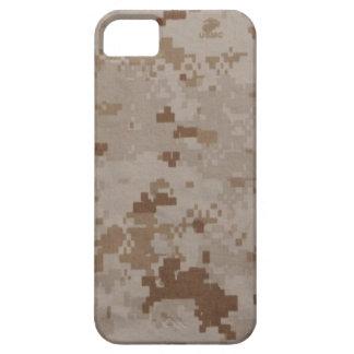USMCの砂漠のカムフラージュ iPhone SE/5/5s ケース