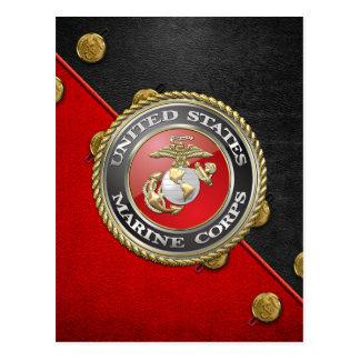 USMCの紋章及びユニフォーム[3D] ポストカード