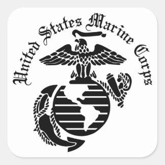 USMC米国海兵隊の スクエアシール