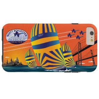 USNAの日没の帆- S_Schuetter Tough iPhone 6 Plus ケース