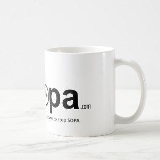 USOPAのSOPAをストップ超出力を有します コーヒーマグカップ