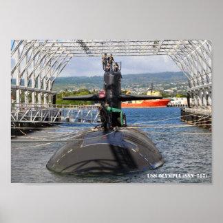 USSのオリンピア ポスター