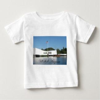 USSアリゾナ ベビーTシャツ