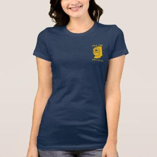 USSインディアナの飛び込みのロッカーのTシャツ-女性の版 Tシャツ