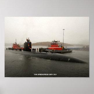 USSスプリングフィールド ポスター