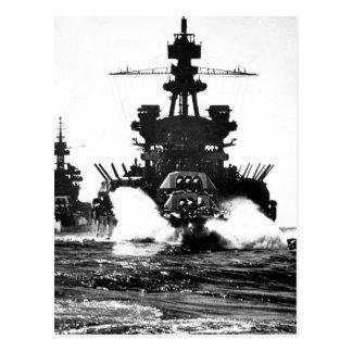 USSペンシルバニアおよび戦艦のof_Warイメージ ポストカード