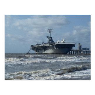 USSレキシントン ポストカード