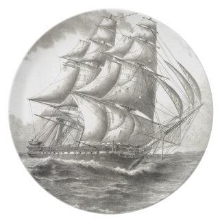 USS憲法 プレート
