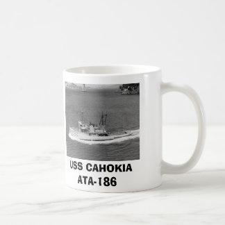 USS CAHOKIA ATA-186 コーヒーマグカップ